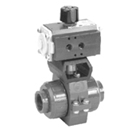 2372K Series 2-Way Ball Valves