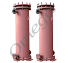 Cylindrical Block Type Graphite Heat Exchangers