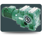 HELICAL HOLLOW SHAFT GEARED MOTOR