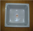 chemical resistance resin sink