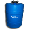 50 Litre Narrow Mouth Round Drum