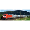 Rail Tank Car and Truck