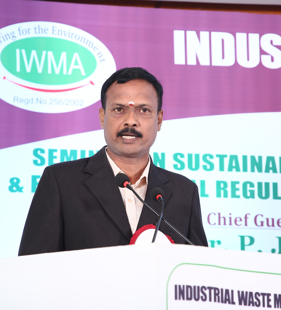 K Baskaran IWMA chairman - interview with waste management expo 2020