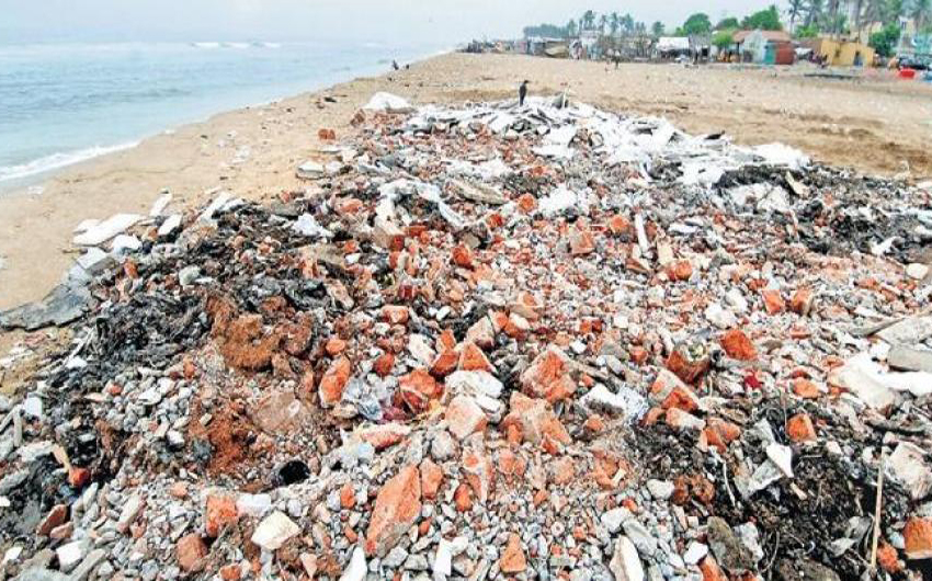 Finally, C&D waste disposal contract signed in Chennai, India