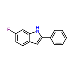 6-Fluoro-2-Phenyl-1H-Indole-Product_Structure