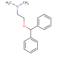 Diphenhydramine Hydrochloride Structure-Molecule Struture