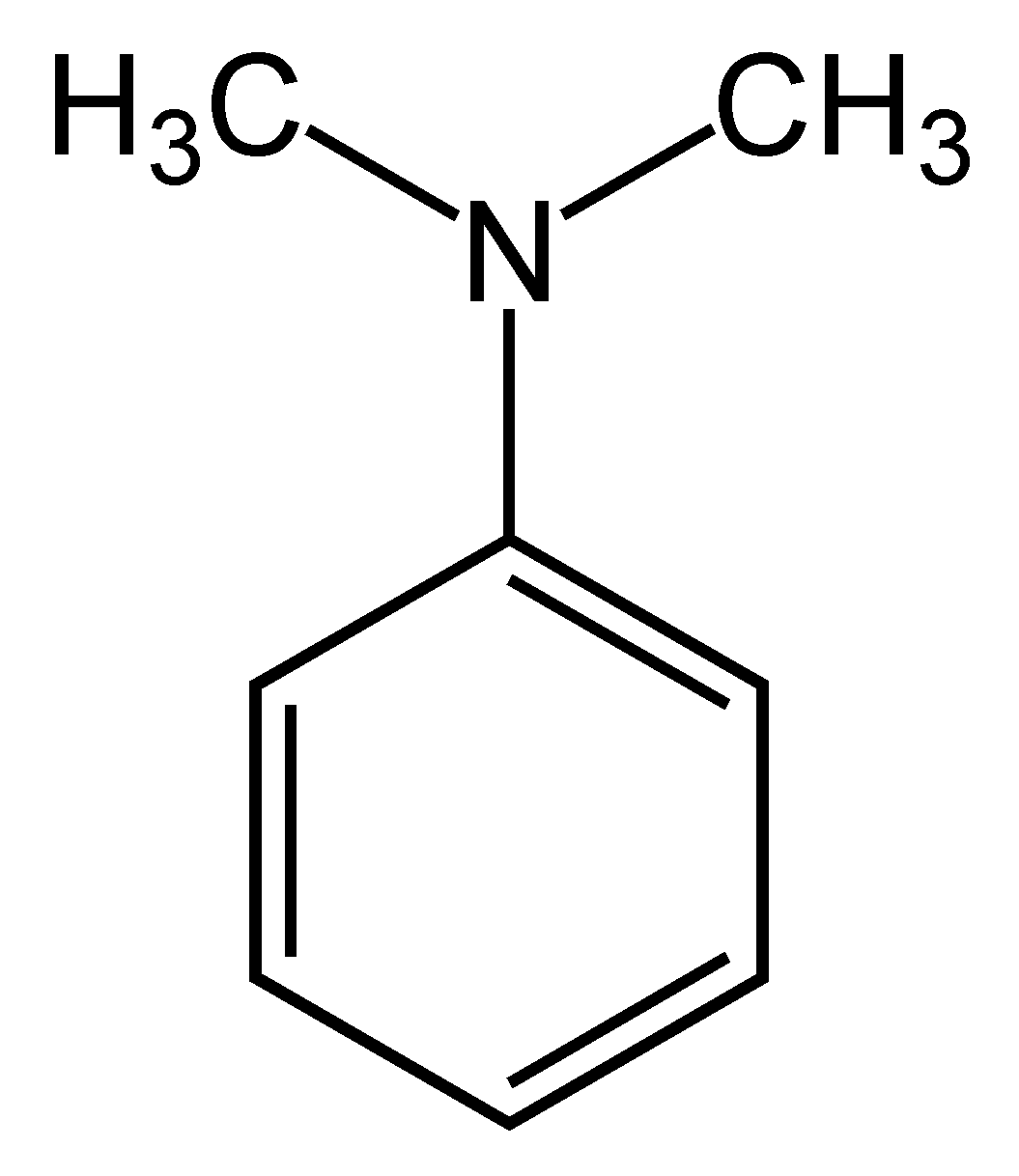 Dimethylaniline Properties Molecular Formula