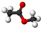 Methyl Acetate-Molecule 3D Struture