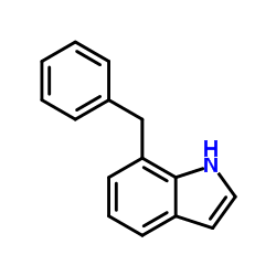 7-Benzyl-1H-Indole-Product_Structure